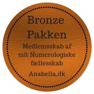 Numerologisk Online Fællesskab Bronzepakke
