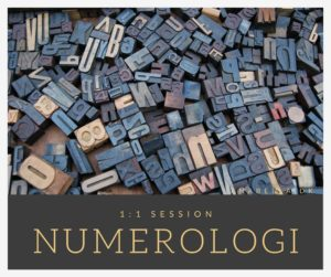Numerologi session