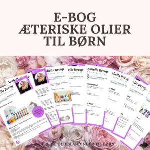 E-bog: 7 eksklusive æteriske olier til børn