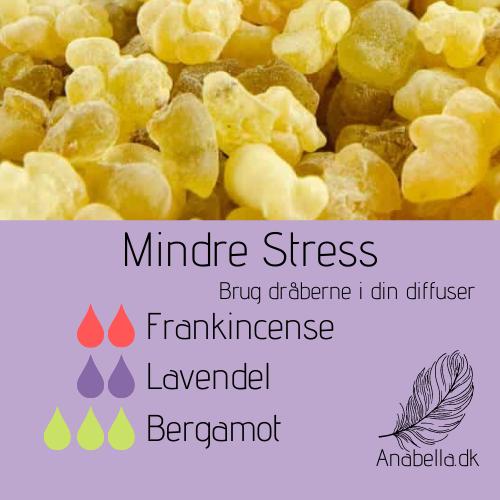 mindre stress med frankincense