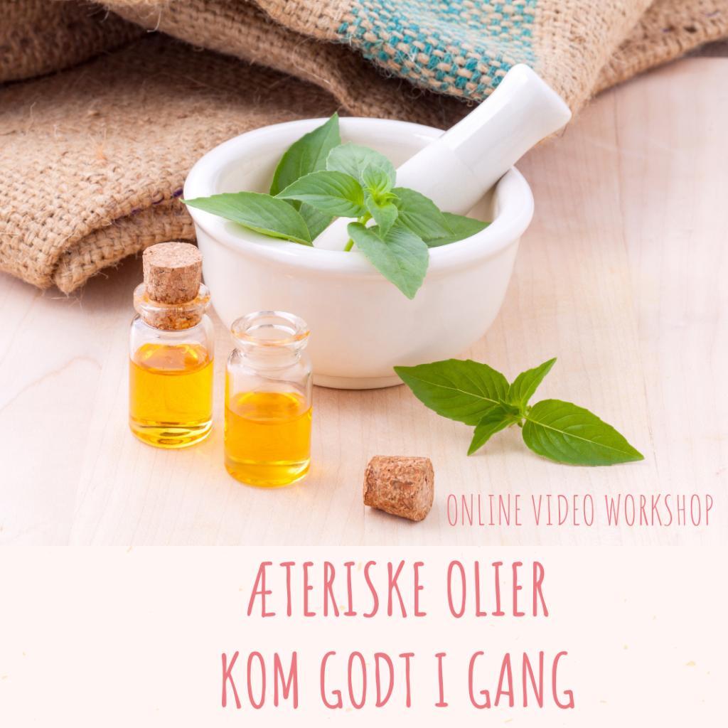 Online kursus Æteriske Olier