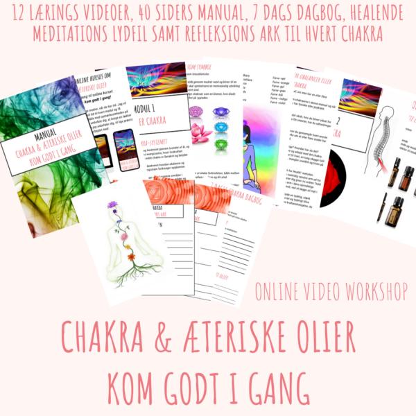 Online Kursus Chakra Æteriske Olier