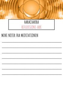 Refleksions ark til Harachakra pdf