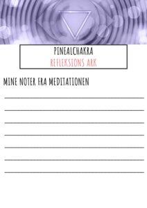 Refleksions ark til Pinealchakra pdf