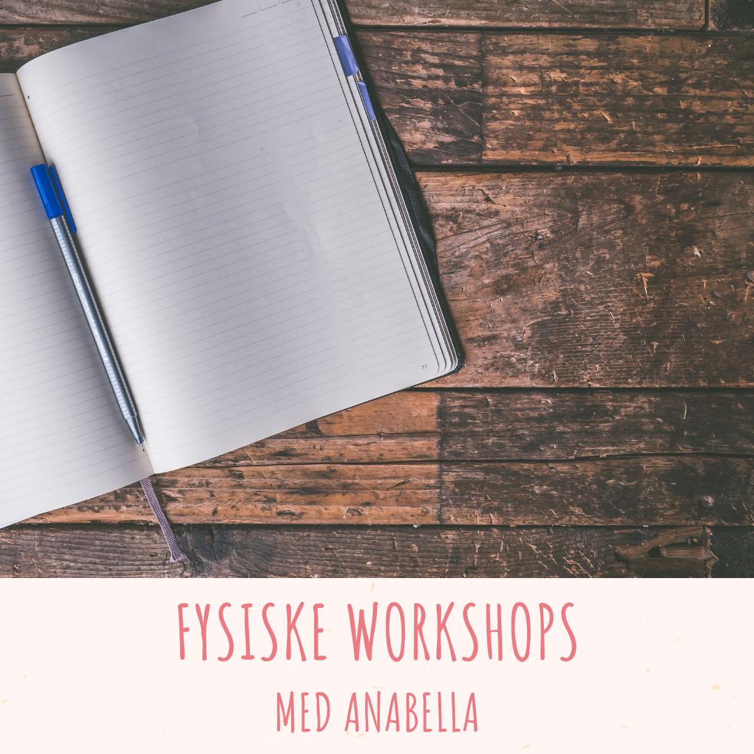 Fysiske workshops med Anabella