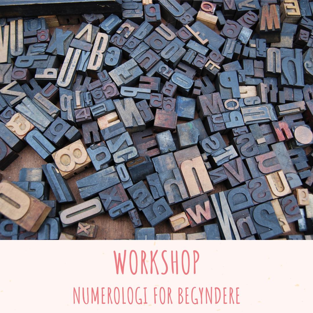 Workshop numerologi for begyndere