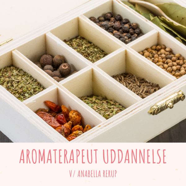 Aromaterapeut uddannelse v Anabella Rerup