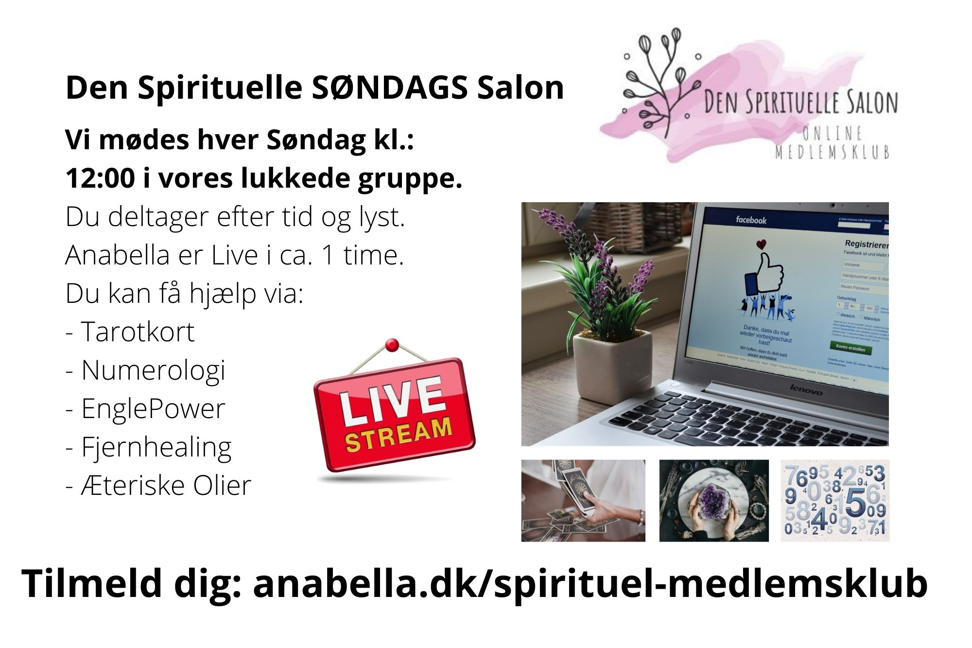 Den Spirituelle Salon LIVE