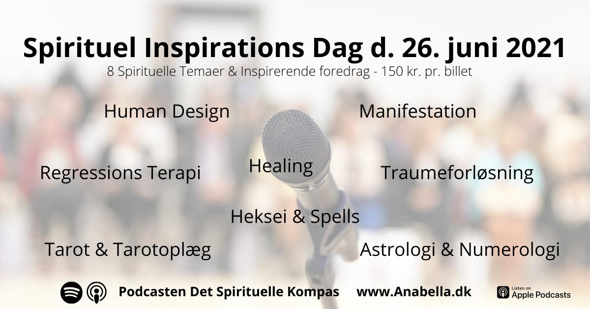 Spirituel Inspirations Dag d. 26. juni 2021