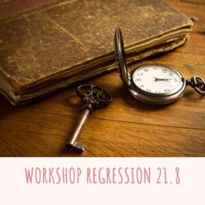 Workshop i Regression – Smag på dine liv 21/8-21