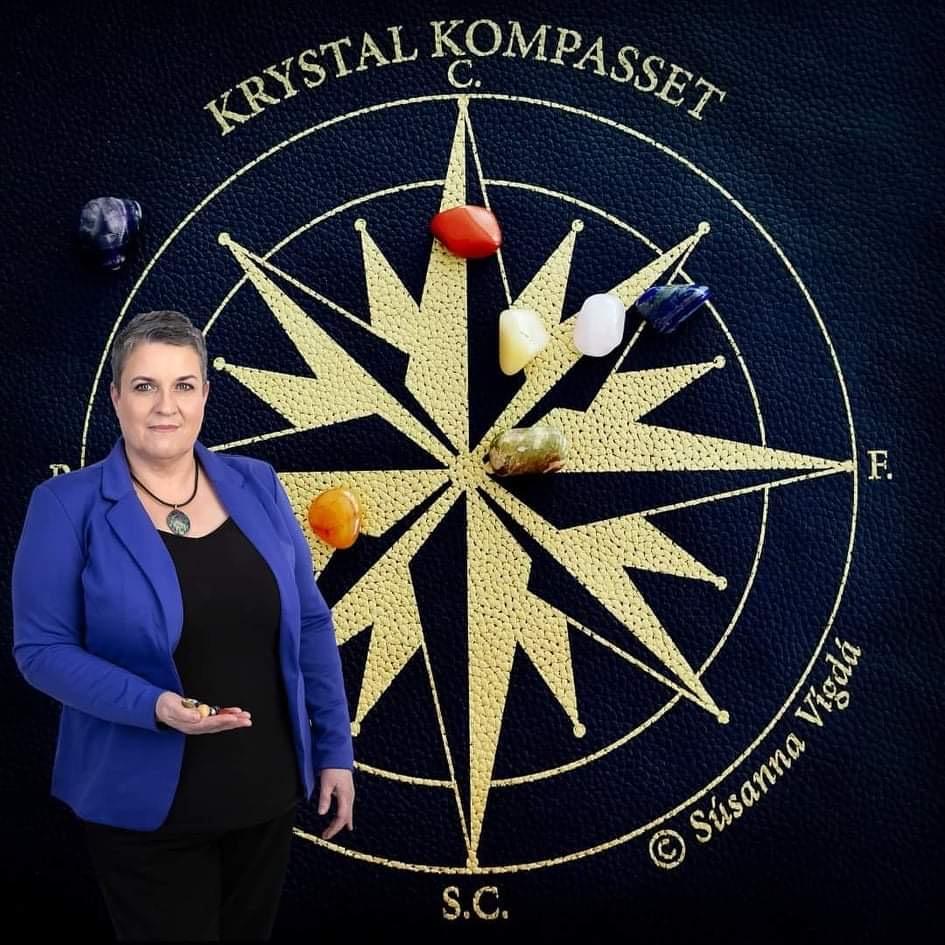 Krystal Kompasset Súsanna Vígdá